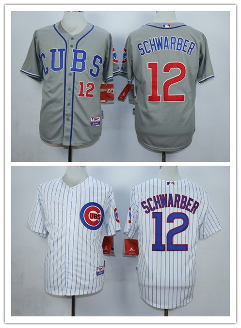 Kyle Schwarber  2015 Chicago Cubs #12MLB Replica Jersey Multiple styles