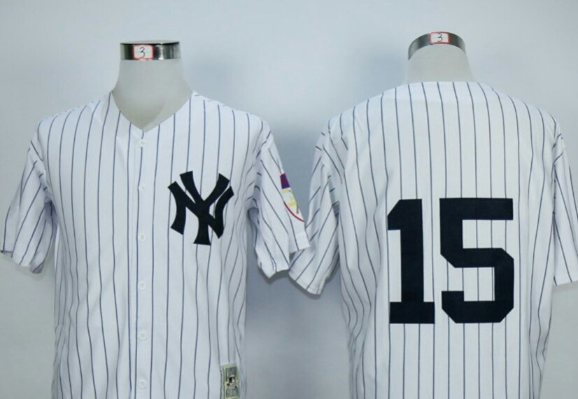 Thurman Munson  New York Yankees #15 Replica Baseball Jersey Multiple styles