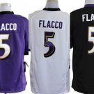Joe Flacco #5 Baltimore Ravens Replica Football Jersey Multiple Styles