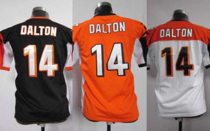 Andy Dalton #14 Cincinnati Bengals Replica Football Jersey Multiple Styles