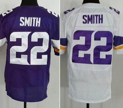 Harrison Smith #22 Minnesota Vikings Replica Football Jersey Multiple Style