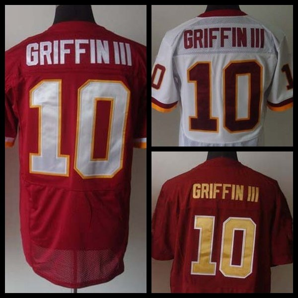Robert Griffin III # 10 Washington Redskins Replica Football Jersey Multiple Styles