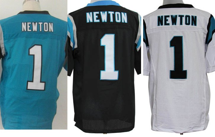 Cam Newton #1 Carolina Panthers Replica Football Jersey Multiple Styles