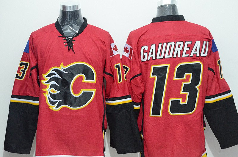 Johnny Gaudreau #13 Calgary Flames  Replica Hockey Jersey Multiple Styles
