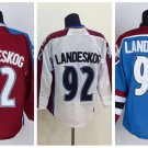 Gabriel Landeskog #92  Colorado Avalanche Replica Hockey Jersey Multiple Styles