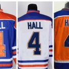 Taylor Hall #4 Edmonton Oilers Replica Hockey Jersey Multiple Styles