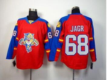 Jaromir Jagr #68 Florida Panthers Replica Hockey Jersey Multiple Styles