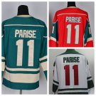 Zach Parise #11 Minnesota Wild Replica Hockey Jersey Multiple Styles