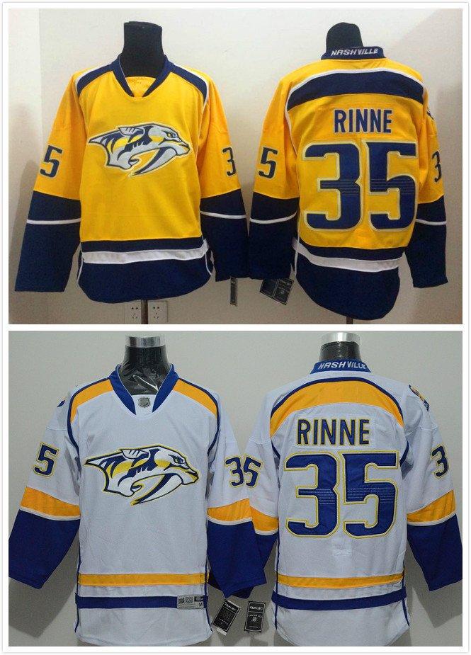 Pekka Rinni #35 Nashville Predators Replica Hockey Jersey Multiple Styles