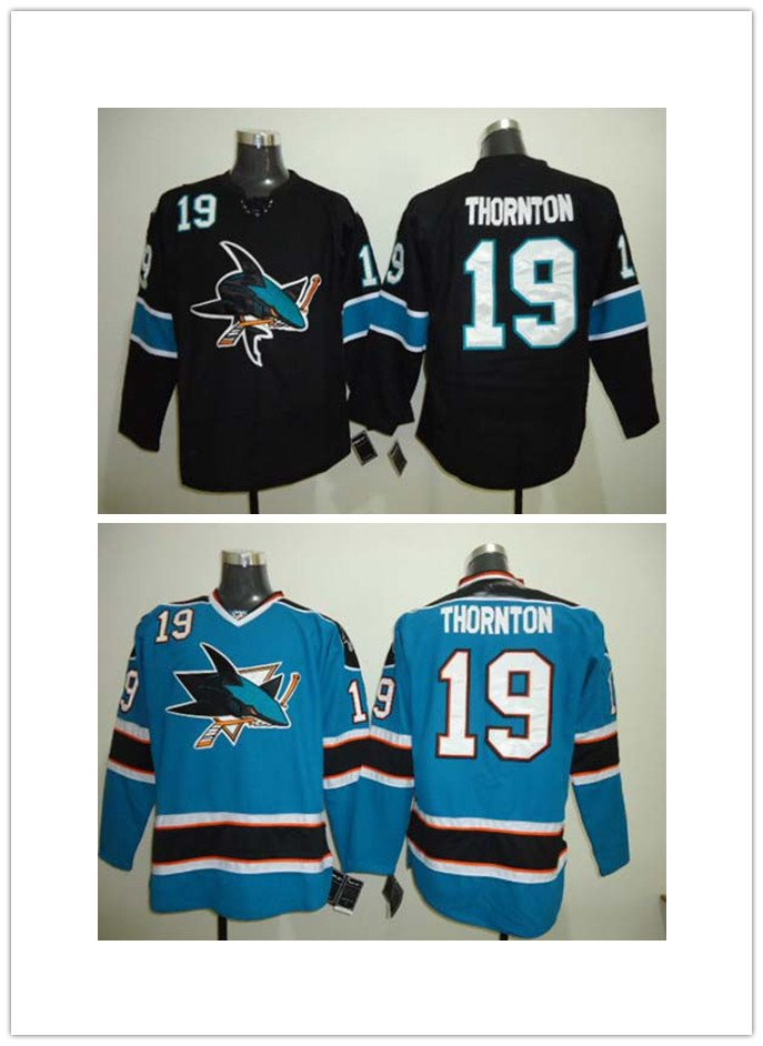 Joe Thornton #19 San Jose Sharks Replica Hockey Jersey Multiple styles