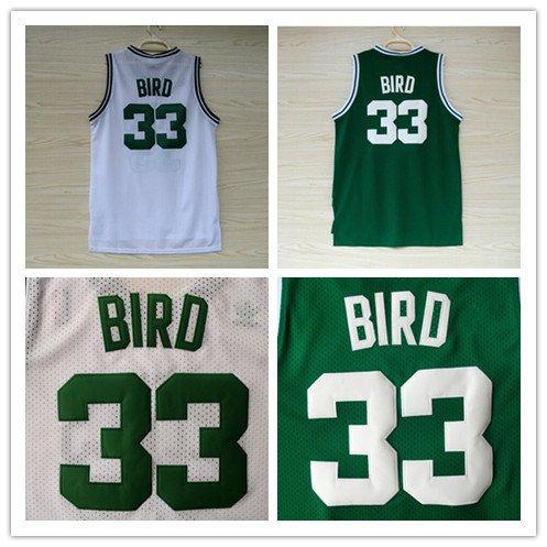 Larry Bird # 33 Boston Celtics  Replica Basketball Jersey Multiple Styles