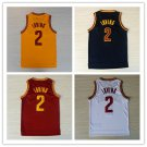 Kyrie Irving #2 Cleveland Cavaliers Replica Basketball Jersey Multiple Styles