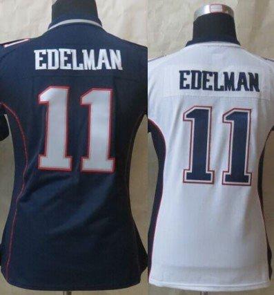 Womens Julian Edelman #11 New England Patriots Replica Football Jersey Multiple styles