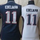 Womens Julian Edelman #11 New England Patriots Replica Football Jersey Multiple styles