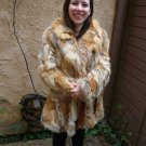 Red Fox Belted Fur Coat (#19)