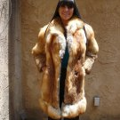 Red Fox Medium Length Fur Coat (#20)