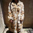 Red Fox Sectional Fur Coat (#25)
