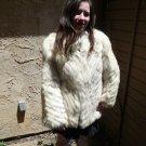 Blue Fox Fur Jacket (#40)