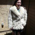 Blue Fox Fur Jacket (#41)