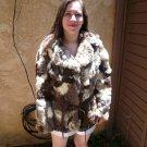 Rabbit Fur Patchwork Jacket (#45)