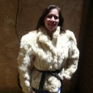 White Rabbit Fur Jacket (#49)