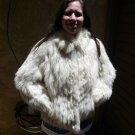 Blue Fox Fur Jacket (#53)