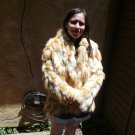Red Fox Sectional Fur Jacket (#54)
