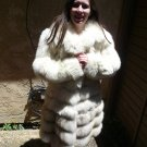 White Fox Fur Coat Convertable (#55)