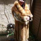 Full Length Red Fox Fur Coat * Scrap * Craft only (#74)
