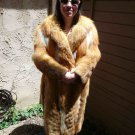 Full Length Red Fox Fur Coat (#75)