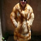 Red Fox Fur Coat (#78)