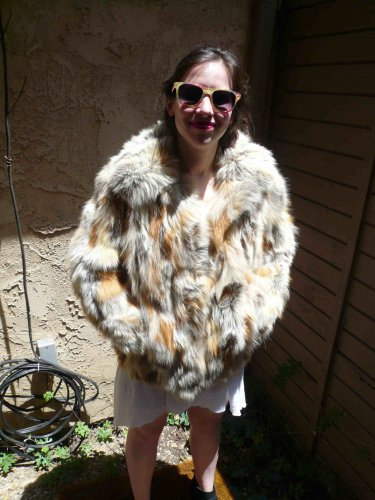 Red Fox Fur Jacket (#88)
