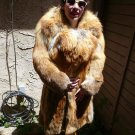 Full Length Red Fox Fur Coat (#90)