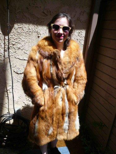 Red Fox Fur Jacket (#94)