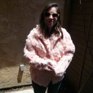 Pink Rabbit Fur Jacket ** SCRAP ** (#107)