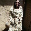 Full Length Multi color Rabbit Coat (#113)