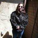 Black Rabbit Fur Jacket (#116)