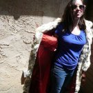 Full Length Blue Fox Fur Coat (#118)