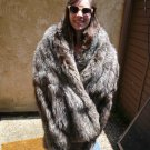 Silver Fox Fur Stole (#124)