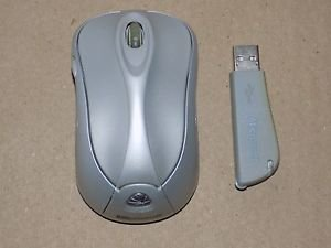 Microsoft 1054 Wireless Laser Mouse 6000 Notebook & 1051 USB Receiver