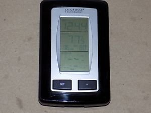 La Crosse WS-9245U-IT Wireless Thermometer Inside Outside Digital Clock