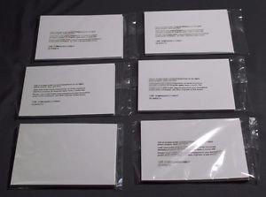 "NEW Kodak Printer Xtralife Photo Paper 6 Packs -120 Sheets 4"" X 7.25"""