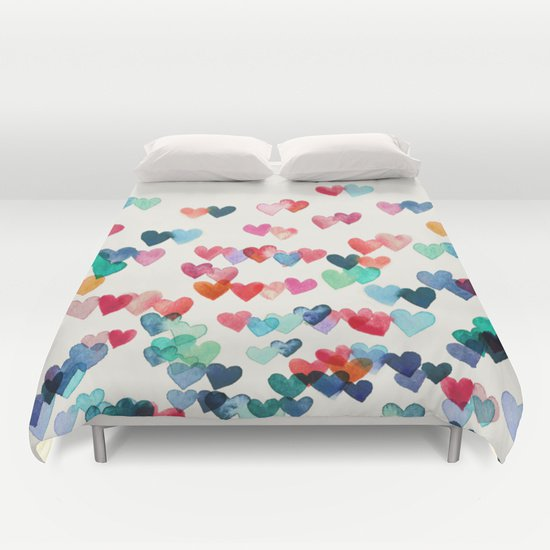 Heart Connections   DUVET COVERS for QUEEN SIZE 1QRoYL4