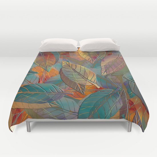 Autumn LEAF DUVET COVERS for KING SIZE 1iqvgWa