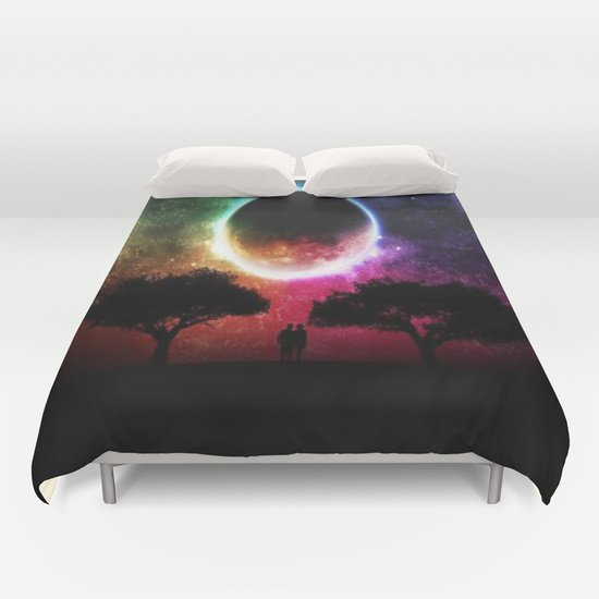 BEAUTIFUL MOON DUVET COVERS for QUEEN SIZE 1OvWGra