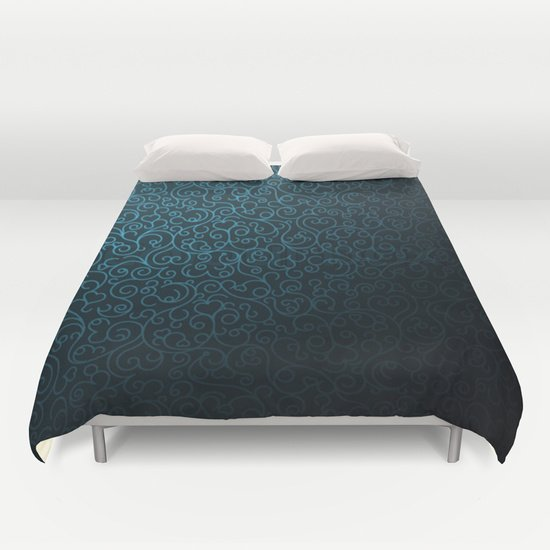 BLUE BLACK DUVET COVERS for FULL SIZE 1iy487A