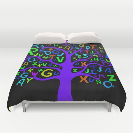 COLORFUL ABC DUVET COVERS for FULL SIZE 1PveToc