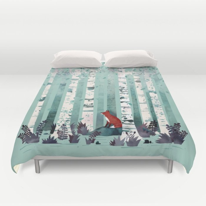 THE BIRCHES DUVET COVERS for KING SIZE 1P0zOOW
