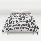 I love you in the morning DUVET COVERS for KING SIZE 1NQtPIA