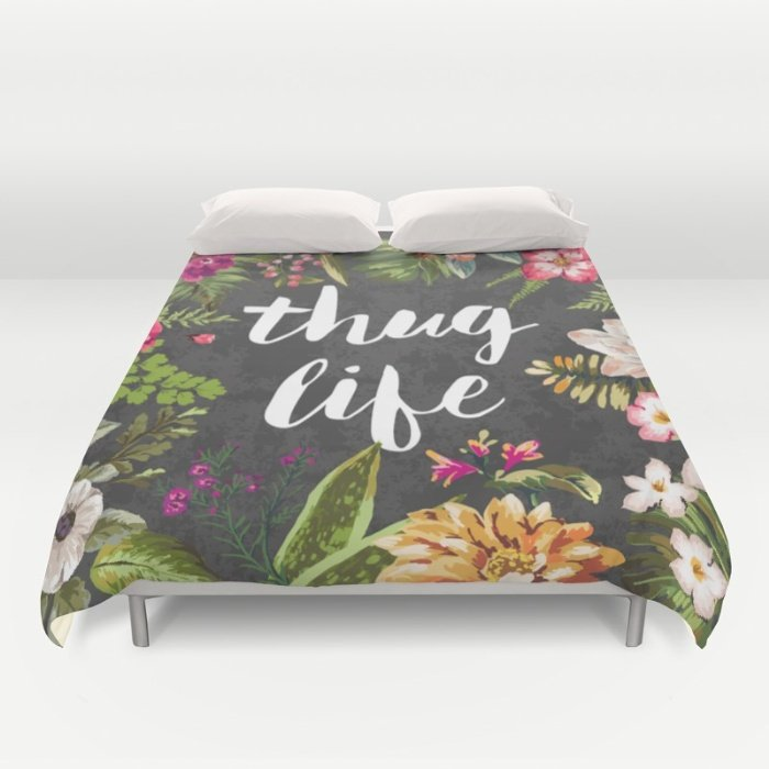 DUVET COVERS Thug Life  for QUEEN SIZE 22rcUGb